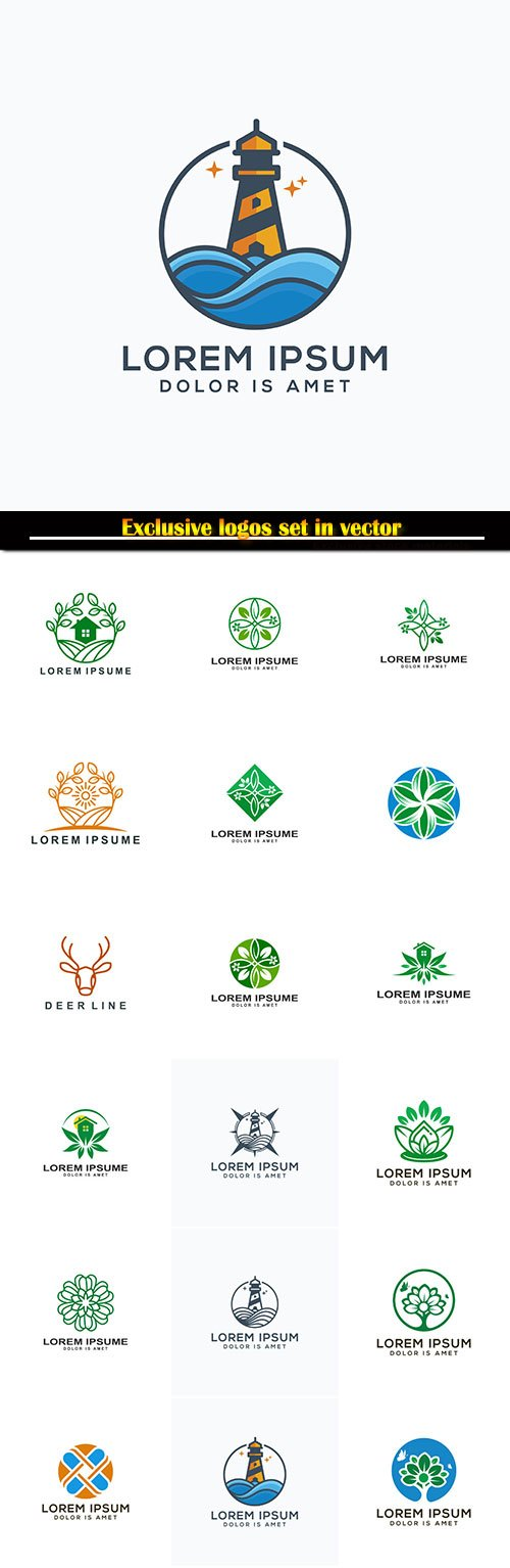 Logo business vector illustration template # 138