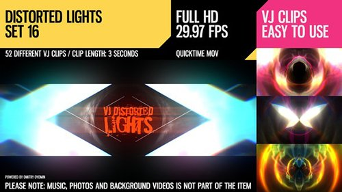 VJ Distorted Lights (Set 16) 19458900