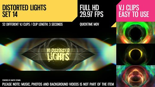 VJ Distorted Lights (Set 14) 19458862