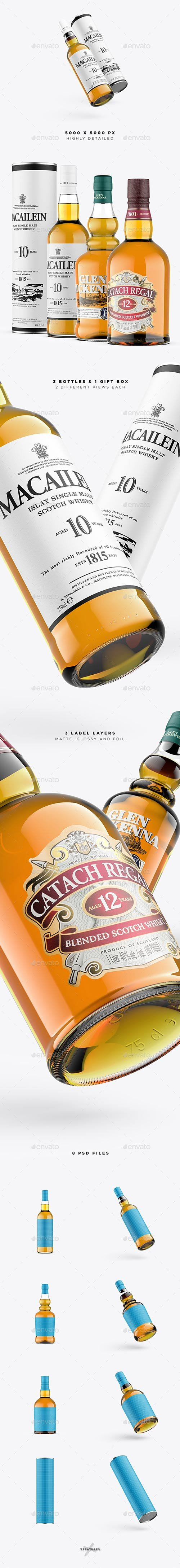 Whisky Mockup - Scotch vol 2 22613336