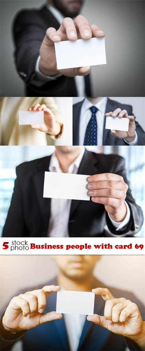 Photos - Business people with card 69