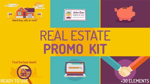 Real estate Kit - Project for After Effects (Videohive)