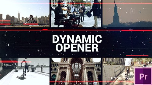 Dynamic Short Opener - Premiere Pro Templates (Videohive)