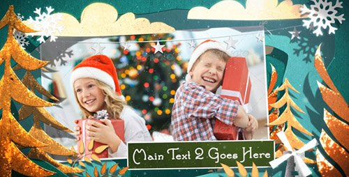 Christmas Cutouts - Project for After Effects (Videohive)