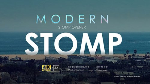 Modern Stomp Opener 22022906 - Project for After Effects (Videohive)