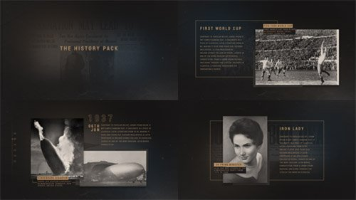The History Pack - Project for After Effects (Videohive)