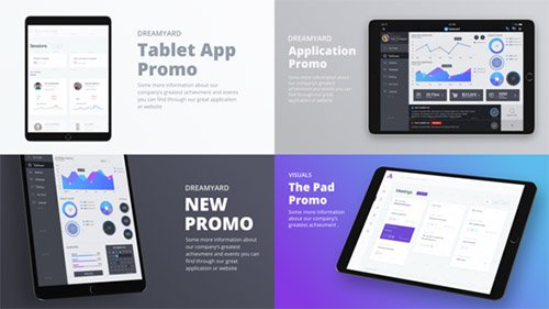 Tablet Presentation Kit - Project for After Effects (Videohive)