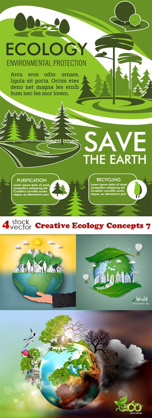 Vectors - Creative Ecology Concepts 7
