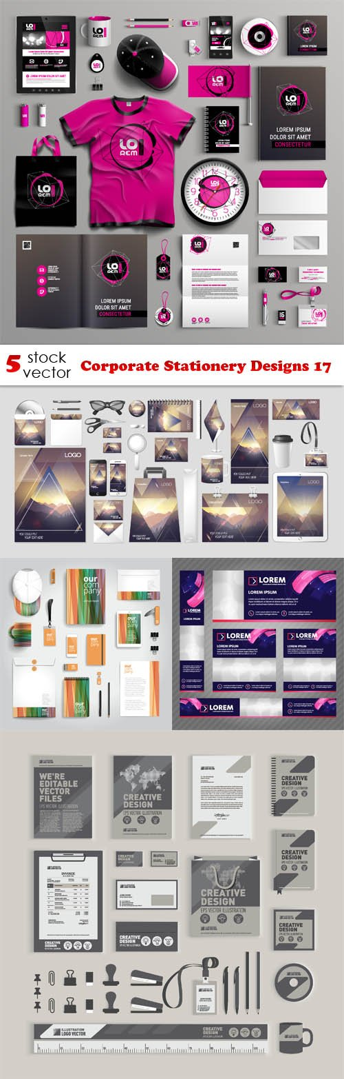 Vectors - Corporate Stationery Designs 17