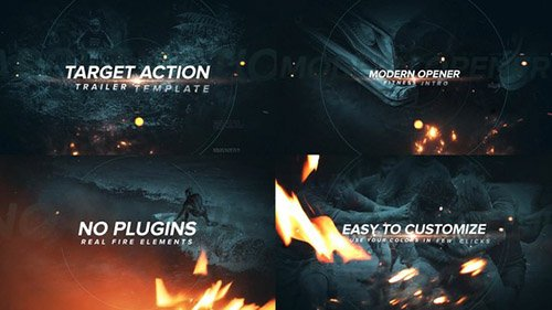 Target Action Trailer - Project for After Effects (Videohive)
