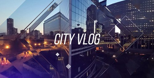 City Vlog - Project for After Effects (Videohive)
