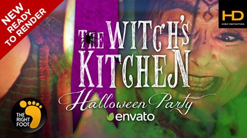 Halloween Witch's Party - Project for After Effects (Videohive)