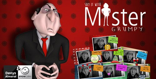 Say It With Mister Grumpy - Project for After Effects (Videohive)