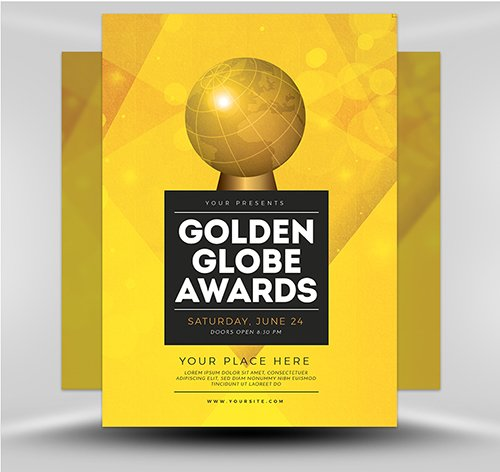PSD Golden Globe Awards v2