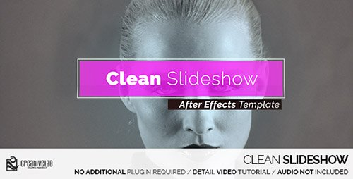 Clean Slideshow 14414348 - Project for After Effects (Videohive)