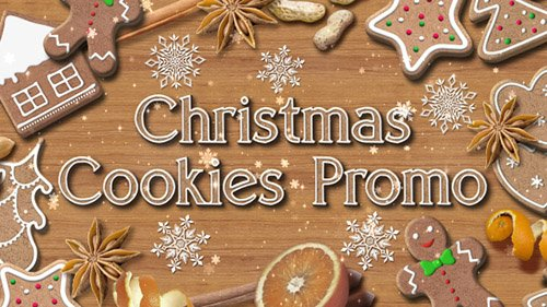 Christmas Cookies Promo - Project for After Effects (Videohive)