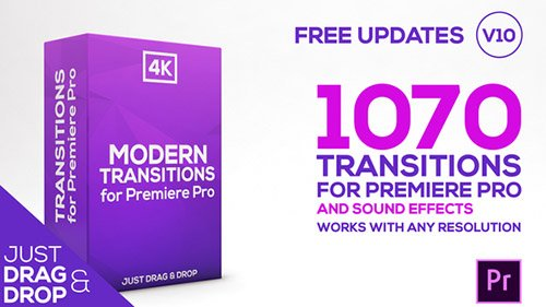 Modern Transitions | For Premiere PRO Templates (Videohive)