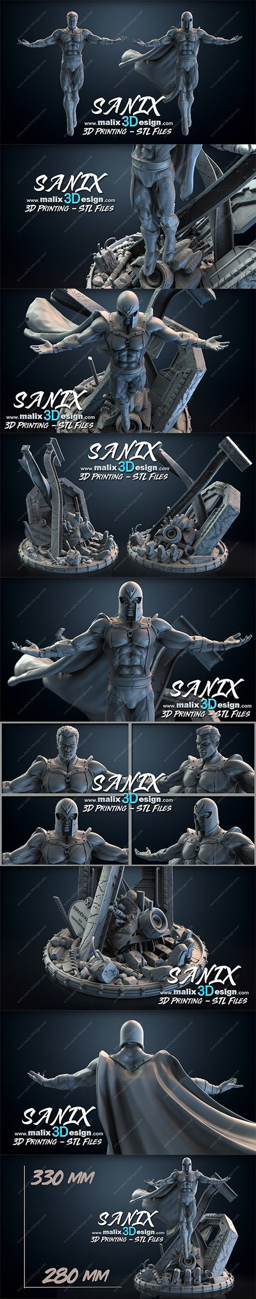 MAGNETO - STL Files for 3D Printing