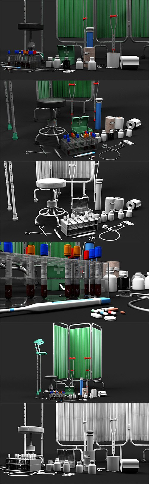 3D Medical Collection 1