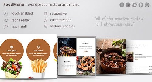 CodeCanyon - FoodMenu v1.11 - WP Creative Restaurant Menu Showcase WooCommerce - 18467437