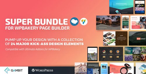 CodeCanyon - Super Bundle for WPBakery Page Builder v1.4.1 (formerly Visual Composer) - 20374176