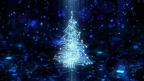 Technology Circuit Christmas Tree 21135924