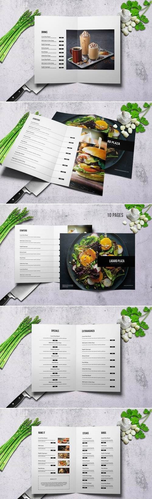 Lagard Plaza Bifold Menu A4 and US Letter