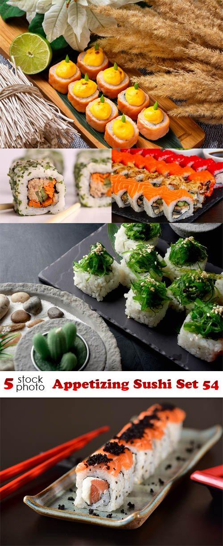 Photos - Appetizing Sushi Set 54