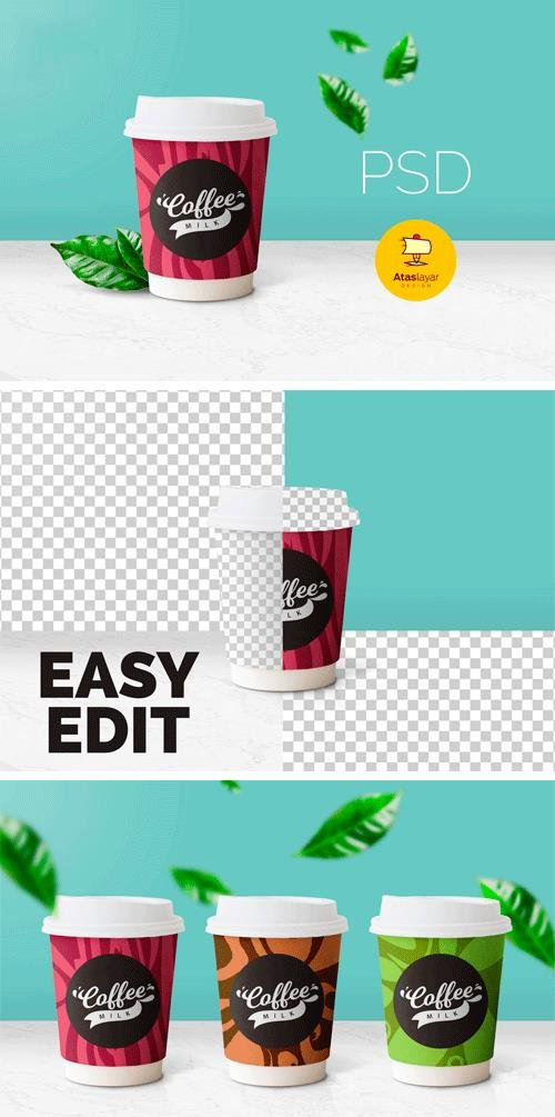 Creativefabrica - Coffee Cup Mockup 638266