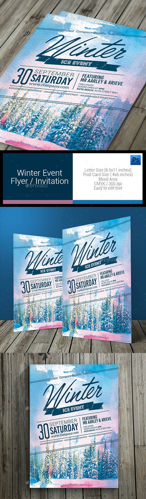 GR - Winter Event Flyer 11085748