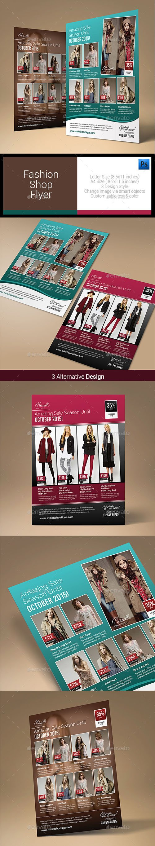 GR - Fashion Shop Flyer 10671062
