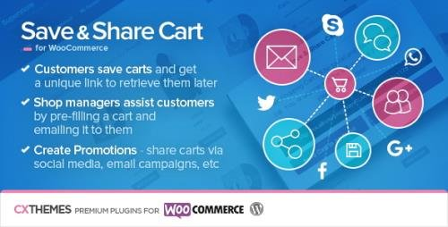 CodeCanyon - Save & Share Cart for WooCommerce v2.19 - 5568059