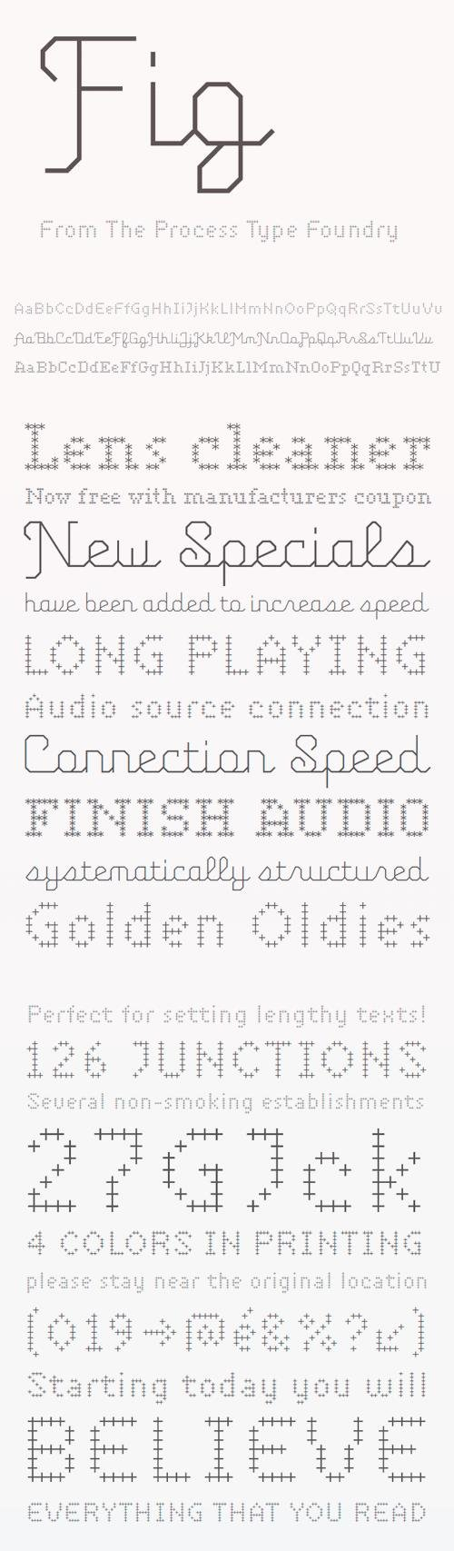 FIG Font Family » NitroGFX - Download Unique Graphics For