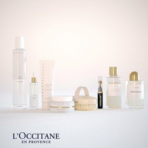 L'Occitane En Provence Cosmetics 3D Models