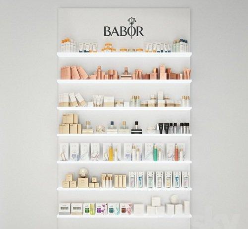 Babor Cosmetics 3d Model