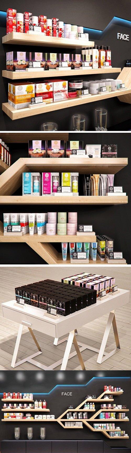 Cosmetics store