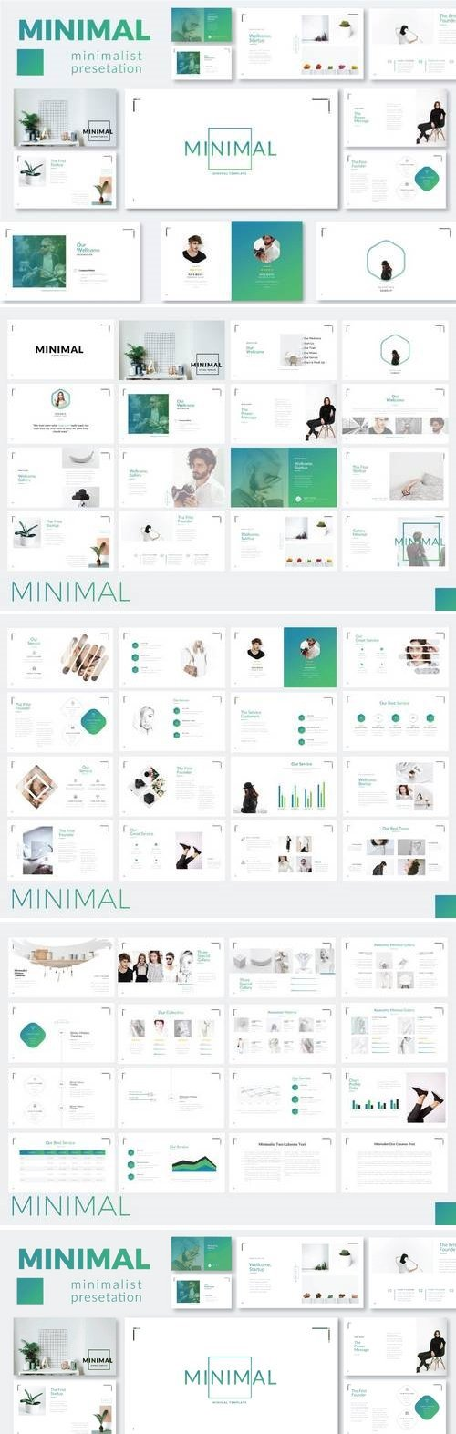 Minimalist - Powerpoint, Keynote, Google Sliders Templates