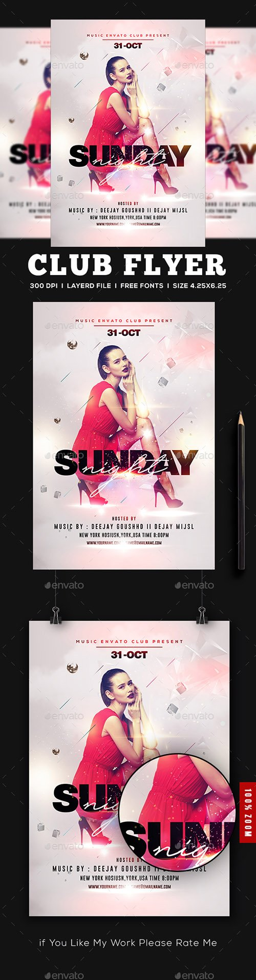 GraphicRiver - Artist Poster Flyer 22472595