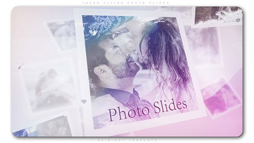 Inked Flying Photo Slides - Project for After Effects (Videohive)