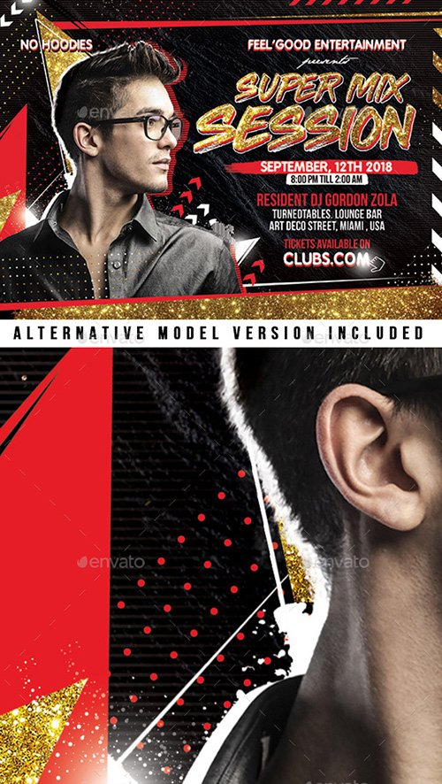 GraphicRiver - DJ Flyer 22457891