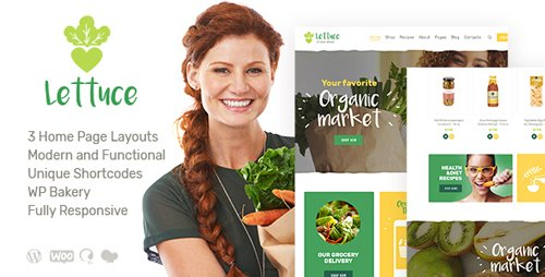 ThemeForest - Lettuce v1.0 - Organic Food & Eco Products WordPress Theme - 22577854