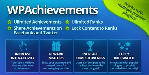 CodeCanyon - WPAchievements v8.12.2 - WordPress Achievements Plugin - 4265703 - NULLED