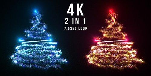 Sparkling Christmas Tree 20951657