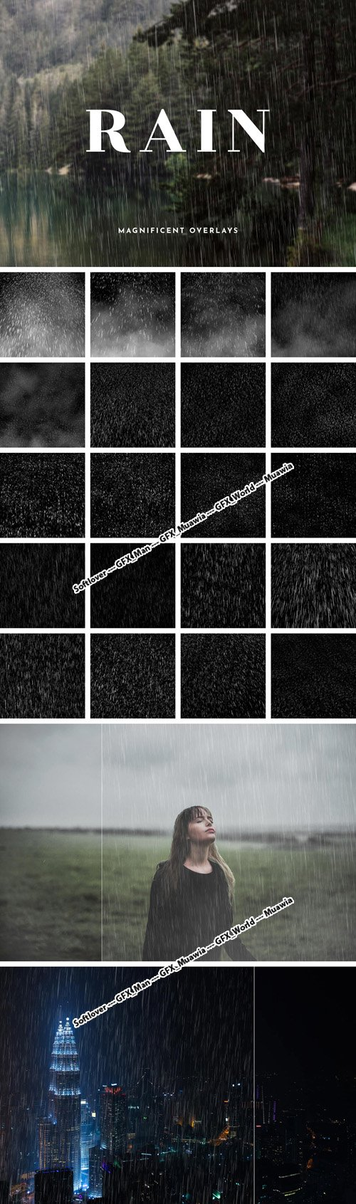 20 Magnificent Overlays - Rain