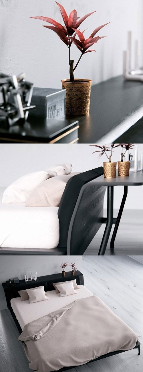 Sled Bed by Cassina