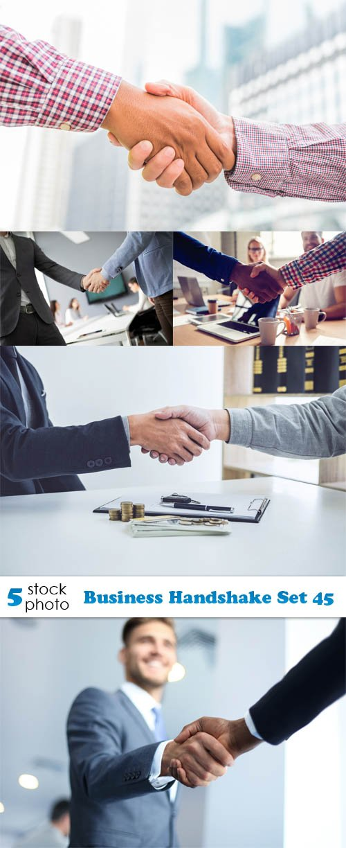 Photos - Business Handshake Set 45