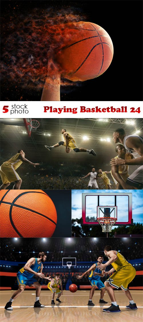 Photos - Playing Basketball 24
