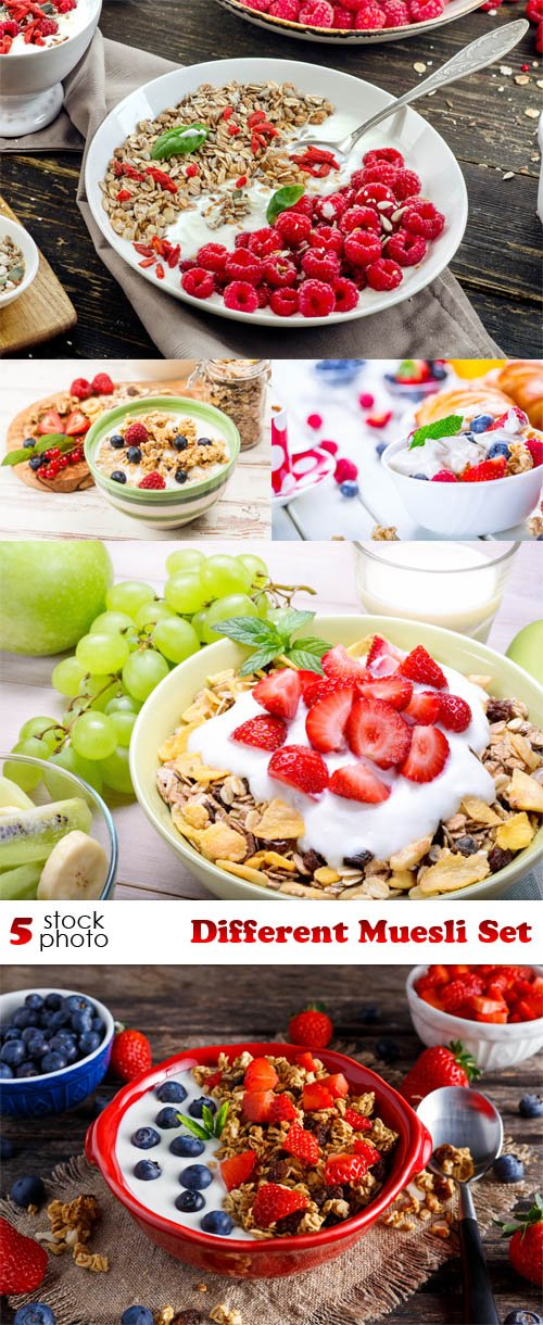 Photos - Different Muesli Set