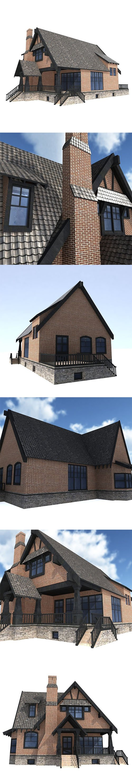 Low Poly House #3