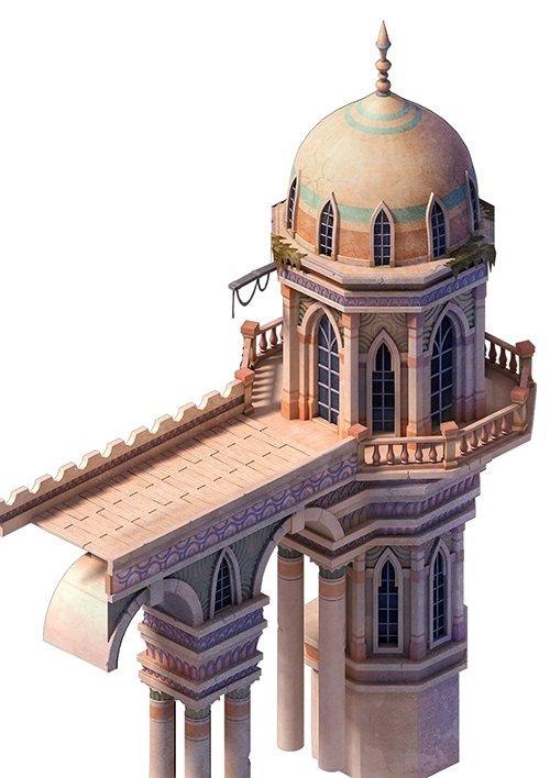 Muslim - Palace Basilica Tower 01